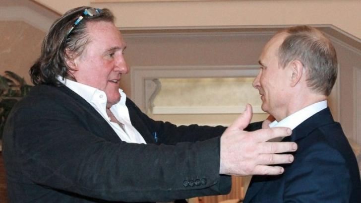 Actorul Gerard Depardieu, mândru că este cetățean rus