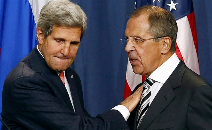 John Kerry şi Serghei Lavrov