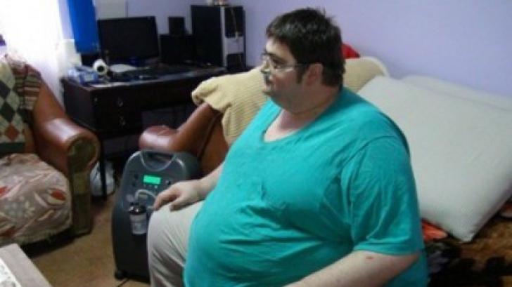 Bărbatul de 300 de kilograme a murit
