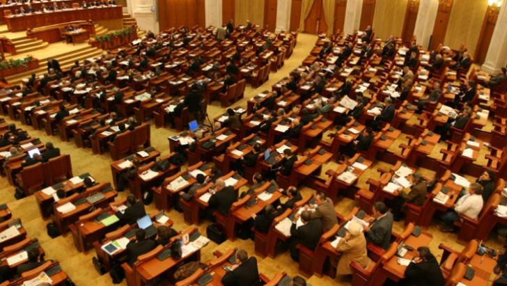 Şedinţă a Parlamentului la 1 aprilie - marcarea a 10 ani de NATO şi numirea conducerilor ASF şi TVR