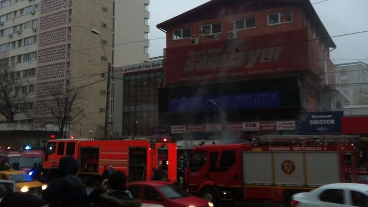 Incendiu în zona Dristor, din Capitală FOTO