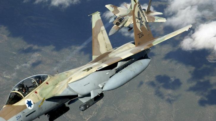 Ofensivă aeriană israeliană în Fâşia Gaza