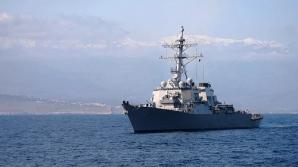 USS Donald Cook ajunge maine in Marea Neagra