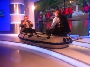 Ion Cristoiu şi Rareş Bogdan: cum se vede România din barcă