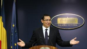Victor Ponta şi-a mutat biroul la MApN / Foto: MEDIAFAX