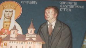 Primarul Bârladului, pictat alături de Iisus în biserica din curtea spitalului din municipiu