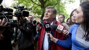 STAN MUSTAŢĂ, la ieşirea de la DNA: Mi-e teamă că voi fi arestat! / Foto: MEDIAFAX