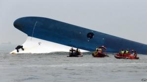 Căpitanul feribotului scufundat în Coreea de Sud a fost arestat