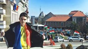 Şase persoane, audiate în cazul băiatului ameninţat după ce s-a fotografiat cu tricolorul