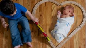 Ajuta-l pe cel mic sa se acomodeze cu noua sarcina