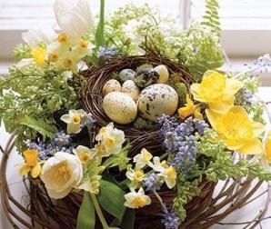 Idei de decoraţiuni speciale de Paşti