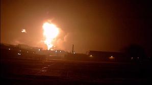 Explozie la un depozit de muniţii (Imagine de arhivă)