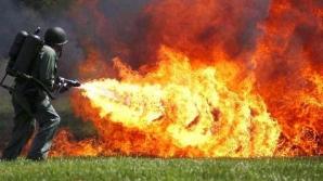 Un oficial al regimului nord-coreean a fost executat cu ajutorul unui aruncător cu flăcări