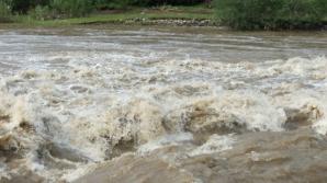 Cadavrul unui bărbat cu capul zdrobit cu parul, găsit ascuns în albia unui râu