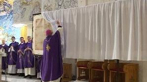 O copie fidelă a giulgiului din Torino se află în România