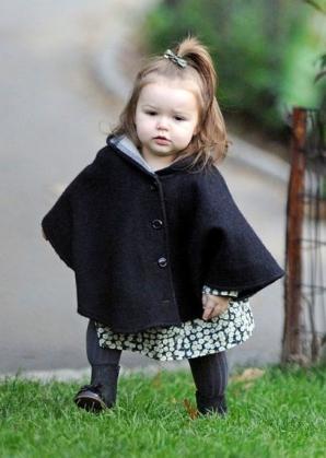 Harper Beckham, cel mai elegant copil din lume