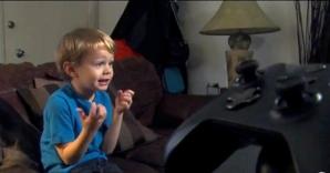 Kristoffer a reuşit să spargă sistemul de siguranţă al unei console de jocuri, la numai 5 ani