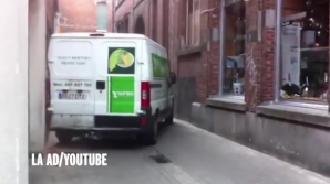Şoferul spaniol a provocat haos într-un oraş din Belgia