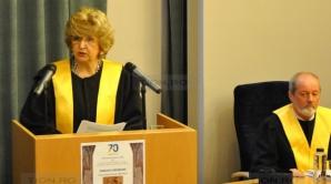 MARIANA GHEORGHE a primit titlul de Doctor Honoris Causa din partea Universității de Vest Timișoara