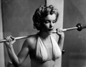 Marilyn Monroe, secretul siluetei sale