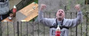 Experimentul Mentos şi Coca Cola, cu un nou ingredient