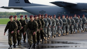 Militarii americani, alături de cei polonezi, în cadrul unui exerciţiu