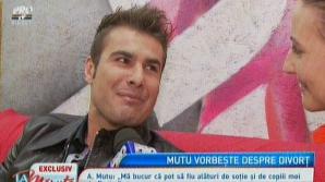 Primele declarații ale lui ADRIAN MUTU despre escapada cu un manechin
