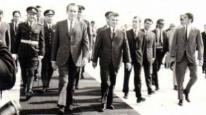 În 1969, a făcut parte din garda care a asigurat securitatea preşedintelui american Richard Nixon, în timpul vizitei în România.