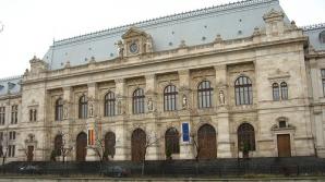 Tablouri cu oameni decapitaţi şi nuduri, expuse de condamnaţi în holul Palatului de Justiţie
