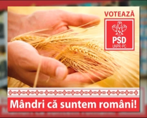 GAFĂ DE PROPORŢII în CAMPANIA PSD. Afişe electorale pentru România, cu poze din POLONIA şi BELARUS