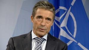 Anders Fogh Rasmussen, secretarul general al NATO, face o vizită în România, în perioada 15-16 mai