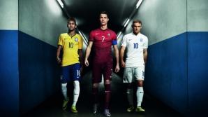 Reclama cu Ronaldo, Neymar JR. si Rooney