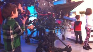 Fluturași de aprilie invadează studiourile Realitatea TV