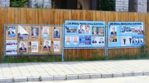 Postarea afişelor electorale pe copaci, stâlpi şi alte locuri neautorizate, INTERZISĂ în Sectorul 4