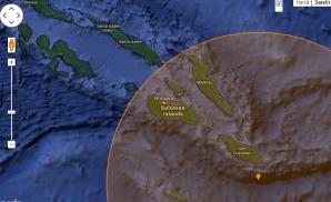 Seism puternic, în apropiere de Insulele Solomon
