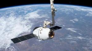 O capsulă spaţială fără echipaj uman a companiei SpaceX a fost lansată cu succes spre ISS