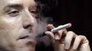 Ţigara electronică interzisă în locurile publice.