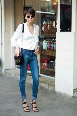 Tinute cu jeansi