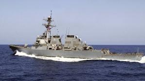 Distrugătorul american USS Donald Cook