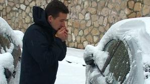 În stațiunea Băile Harghita a nins