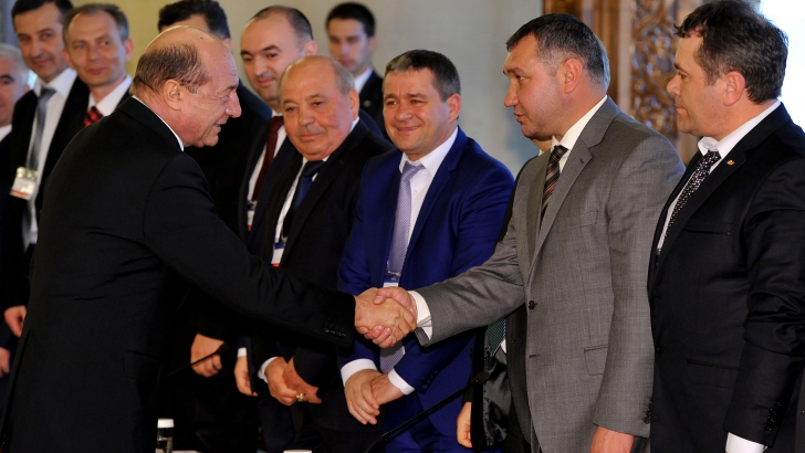 Băsescu s-a întâlnit la Cotroceni cu reprezentanţi ai Euroregiunii Siret-Prut-Nistru