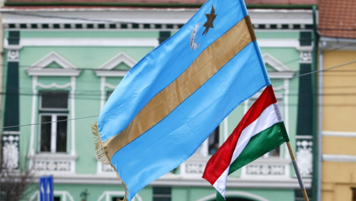 PCM Covasna vrea miting pentru autonomie de 1 Decembrie, în Piaţa Mihai Viteazul din Sfântu Gheorghe