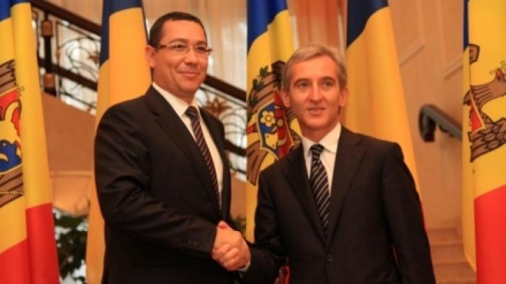 Victor Ponta, în Republica Moldova. Premierul se întâlneşte cu Iurie Leancă / Foto: gov.md