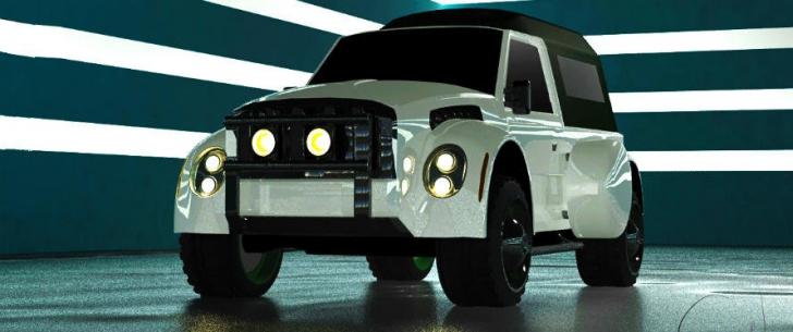 2014 ARO Concept: Cum ar putea arăta o versiune actuală a SUV-ului românesc