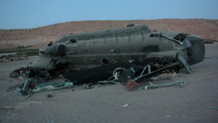 Un accident de elicopter s-a soldat cu moartea a cinci militari NATO