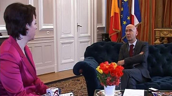 Philippe Gustin, interviu exclusiv pentru Realitatea Tv la final de mandat