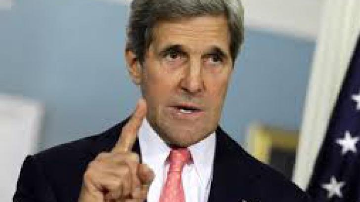 John Kerry, la Sofia