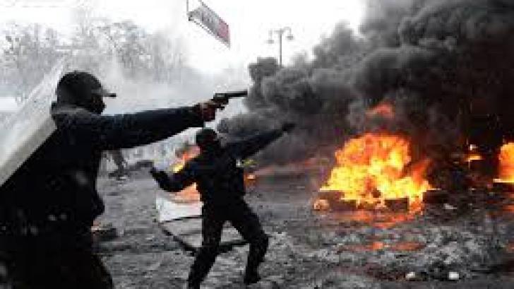 Atac armat la Kiev