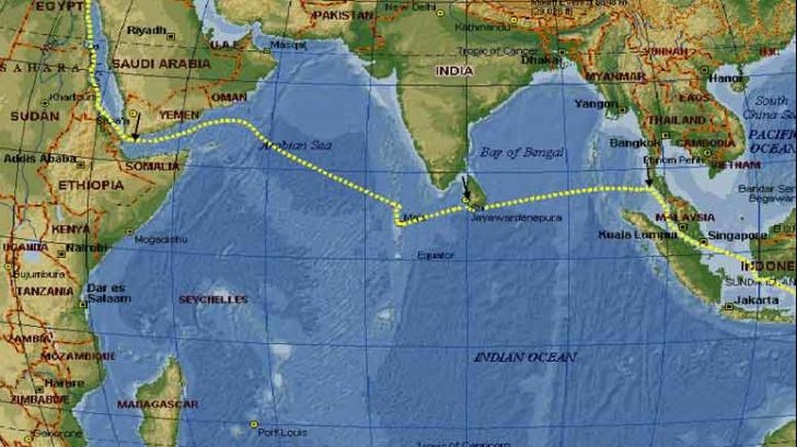 Semnal misterios în Oceanul Indian