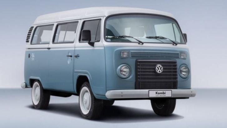 """Volkswagen: Mesajul emoționant de """"rămas bun"""" pentru Volkswagen Kombi"""